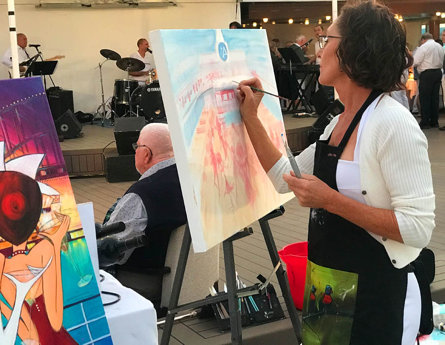 live-painting-natalie-dyer