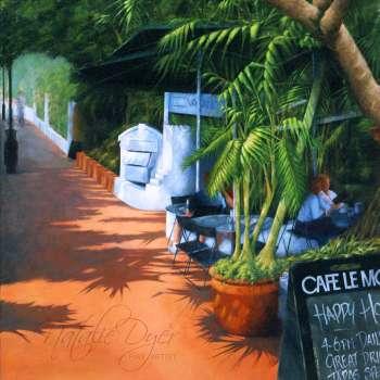 On Hastings Noosa Cafe Le Monde by Natalie Dyer Sunshine Coast artist