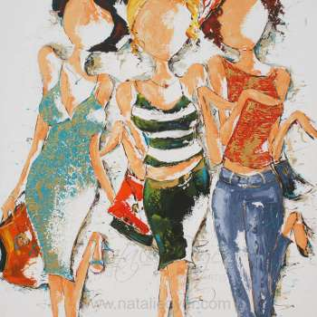 Girls on the Avenue